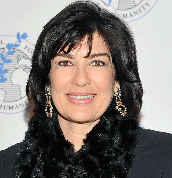 Christiane Amanpour From CNN: A Blessed Wedding That Got Her Husband And A Son