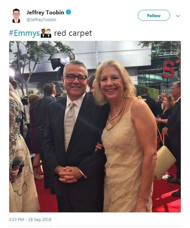 Image result for Jeffrey Toobin's Wife