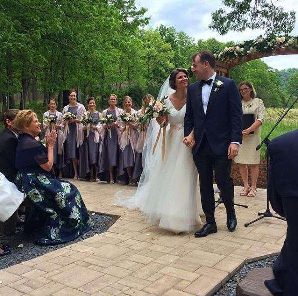 MSNBC's Kasie Hunt Reflects On Magical Wedding Day; The Perfect