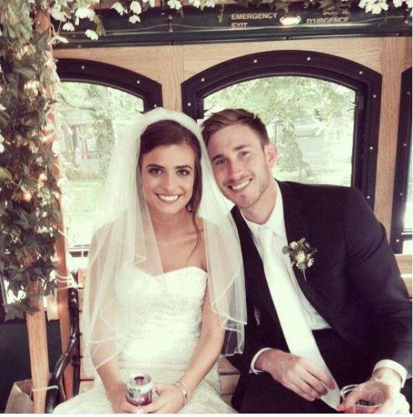 Image result for gordon hayward wedding