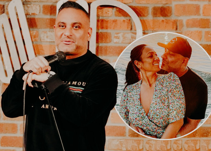 Russell Peters Fiance
