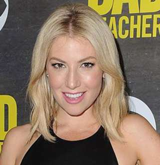 Actress Ari Graynor Dating Gestures With