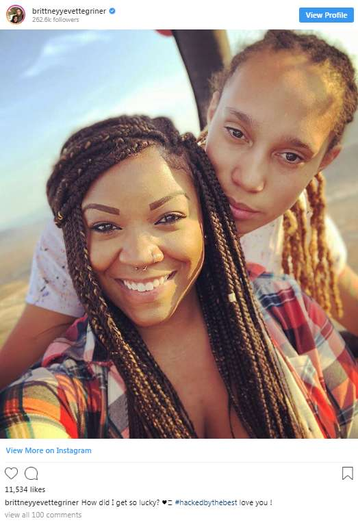 Brittney Griner Flaunts New Girlfriend Shortly After Bashing